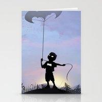 Bat Kid Stationery Cards