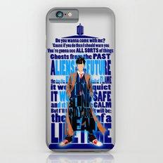 Tardis Doctor Who Typogr… iPhone 6 Slim Case