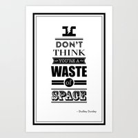 HP Quotes - Deathly Hall… Art Print