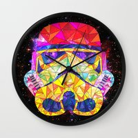 SpaceStorm Wall Clock
