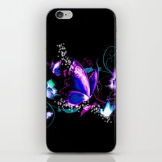 BUTTERFLY IN BLACK iPhone & iPod Skin