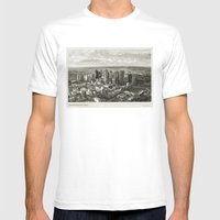 Melbourne City Mens Fitted Tee White SMALL