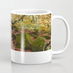 Autumnal woodland. Padley Gorge, Derbyshire, UK. Mug