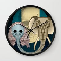 Love In Times Of Ebola Wall Clock