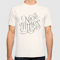 Nice tittles!!! Mens Fitted Tee Natural SMALL