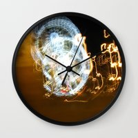 Paris By Night Wall Clock