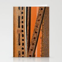 Orange Angle Stationery Cards