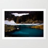 Grinell Glacier  Art Print