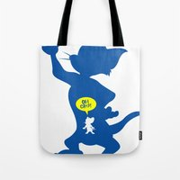 Tom & Jerry Tote Bag