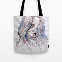 Spring Breeze, Watercolo… Tote Bag