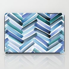 Cycladic Chevron iPad Case