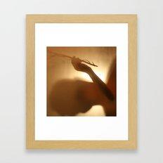'Untitled 5' - Body language series. Framed Art Print