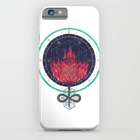Fading Dahlia iPhone & iPod Case
