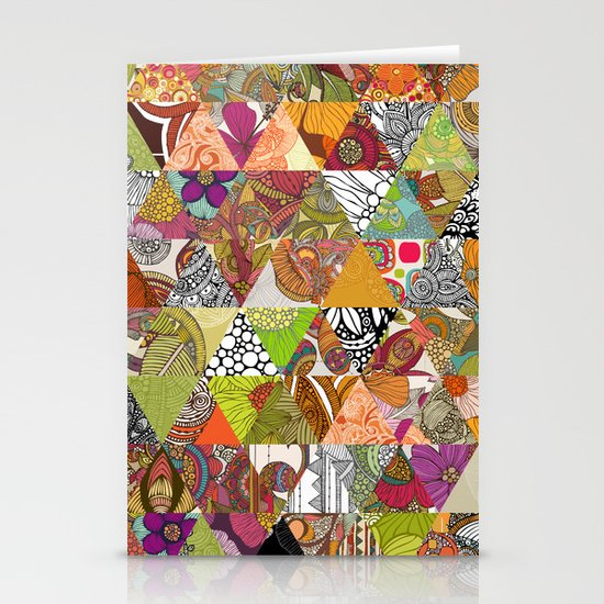 Like a Quilt Stationery Card