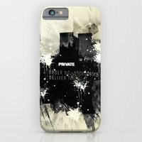 iPhone & iPod Case featuring Private place by gwenola de muralt