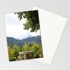 Fountain in the Mountains Stationery Cards