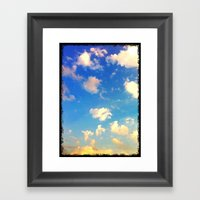 Georgia Sunset Framed Art Print