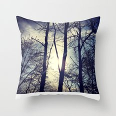 Your light will shine in the darkness Throw Pillow