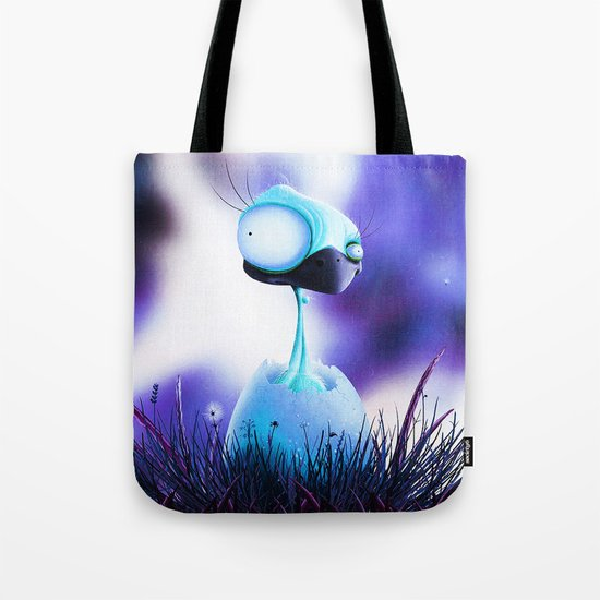 MONSTER CHICK Tote Bag