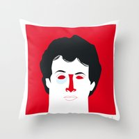 Rocky Balboa Throw Pillow