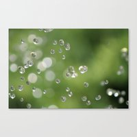 Going Green - One Drop A… Canvas Print