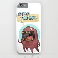 iPhone & iPod Case featuring One Please (Alternate) by Tim Probert