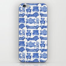 Victorian Lounge – Navy Palette iPhone & iPod Skin