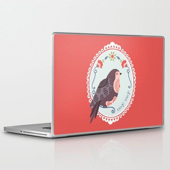 Signorina Pettirosso Laptop & iPad Skin