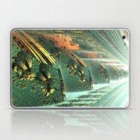 Cannon Battery (Crosshatch Explosion) Laptop & iPad Skin