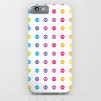 iPhone & iPod Case featuring skulls monogram by not so popular