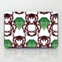 Emeralds & Demons [WHITE… iPad Case