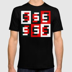 S6 Tee 7 by dabnotu Mens Fitted Tee SMALL Black