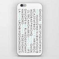 If You Were Here I Would… iPhone & iPod Skin