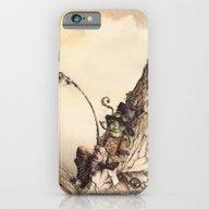 Steampunk Landscape iPhone 6 Slim Case