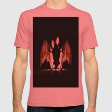 bat Mens Fitted Tee Pomegranate SMALL