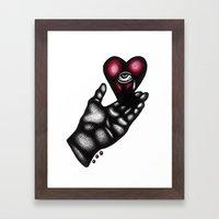 Love Will Tear Us Apart, Again Framed Art Print