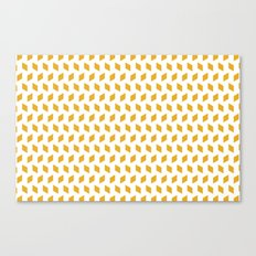 rhombus bomb in mimosa Canvas Print