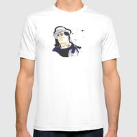 Rocky Balboa_INK Mens Fitted Tee White SMALL