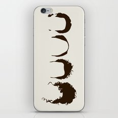Seinfeld Hair iPhone & iPod Skin
