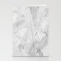 Feathered (Pattern). Stationery Cards