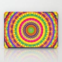 Batik Bullseye iPad Case