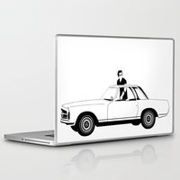 car Laptop & iPad Skins featuring Car by wreckthisjessy