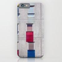 eastern european apartments in colour iPhone 6 Slim Case