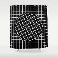 What Goes Around Comes A… Shower Curtain