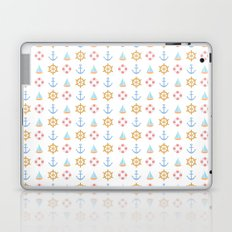 The Essential Patterns of Childhood - Sailing Laptop & iPad Skin
