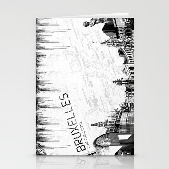 Bruxelles Stationery Card