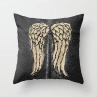 Daryl Dixon Team. ‹(-- Throw Pillow