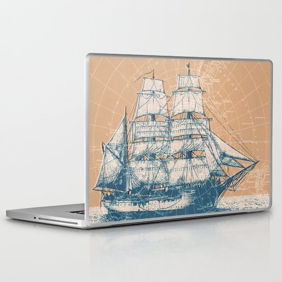 Age of Exploration Laptop & iPad Skin