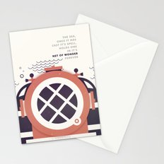Astronautical: The Final Frontiers Stationery Cards