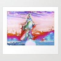 Plaster Art Print